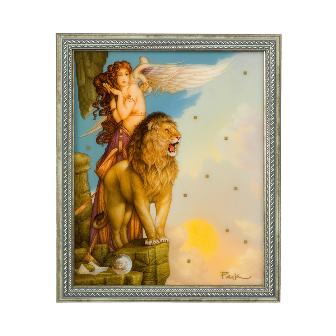 Michael Parkes, Lion´s Return - Wandbild